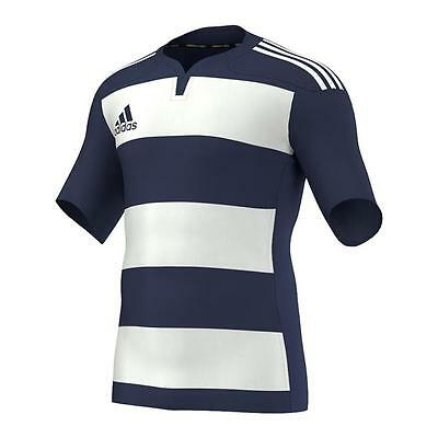 Adidas Mens Teamwear Hooped Match Shirt - NEW 2017 Top Jersey Training Rugby