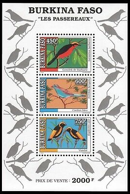 Burkina Faso 1995 - Mi-Nr. Block 143 ** - MNH - Vögel / Birds