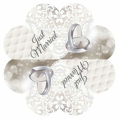 Wedding Heart Shape Napkins Just Married Wedding Disposable Party Tableware