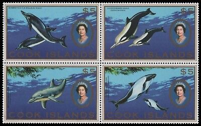 Cook-Inseln 2007 - Mi-Nr. 1599-1602 ** - MNH - Delphine / Dolphins
