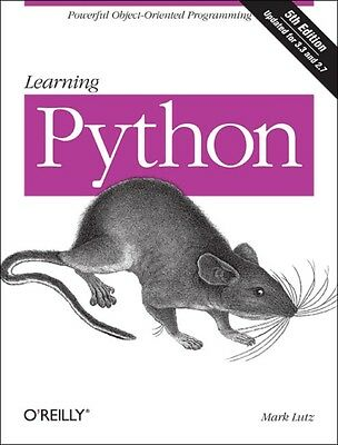 Learning Python (Paperback), Lutz, Mark, 9781449355739