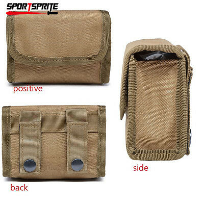 10 Round Tactical Molle Rifle Stock Ammo Mag Magazine Pouch Waist Vest Bag Case