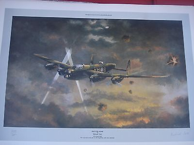 x3 Three Signed Limited Edition of 500 (Lancaster Bomber)
