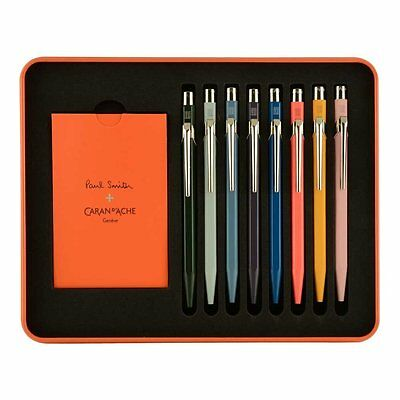 Caran D'ache Paul Smith 849 Assorted Colors Ballpoint Pen Set  - 849.308