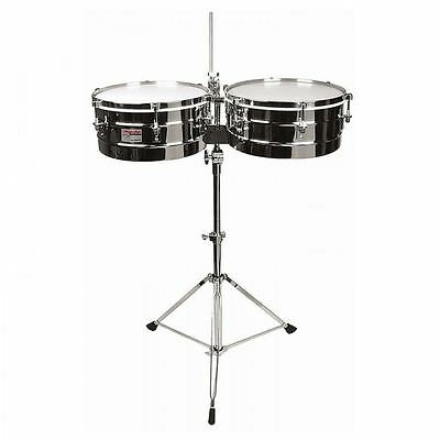 Rhythm Tech Timbales With Chrome Stand Rt5345