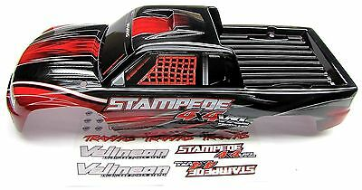 Stampede 4x4 VXL BODY Shell (RED, brushless & Includes decal ) Traxxas 6708