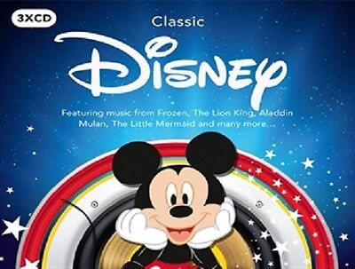 CLASSIC DISNEY 3 CD SET - VARIOUS ARTISTS (New Release 26th May 2017)
