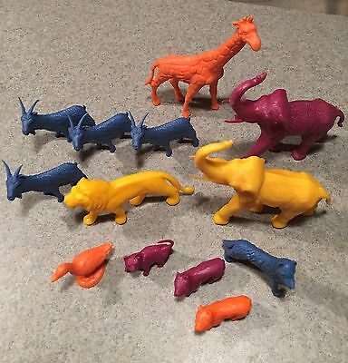 vintage MPC Nabisco Cereal Animals