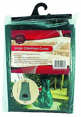 Redwood Leisure BB-RC175 Large Chiminea Cover - Green