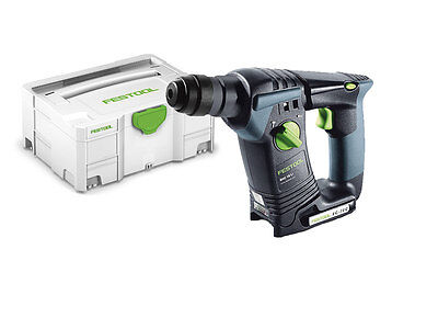 Festool BHC 18 Li-Basic 18v Li-ion SDS Plus Cordless Hammer Drill in Systainer 2