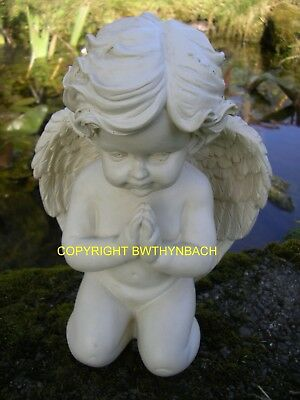 New Rubber Latex Mould Moulds Mold Memorial Angel Cherub Praying E