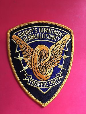 Bernalillo County New Mexico Traffic Unit  Shoulder Patch