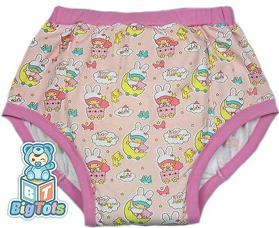Big Tots  Bunny Caps adult size training pants baby print