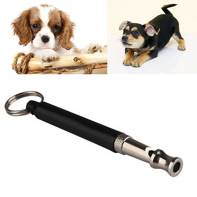 High Quality Dog Puppy Whistle Ultrasonic Adjustable Sound Key Chain Training