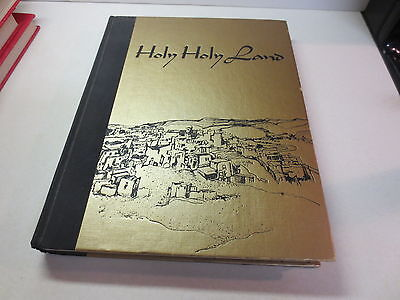 Holy Holy Land a Devotional Anthology by Charles L. Wallis First Edition hb