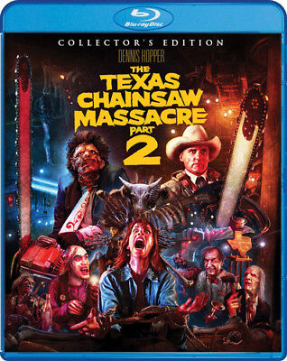 The Texas Chainsaw Massacre 2 [New Blu-ray] Collector's Ed, Widescreen