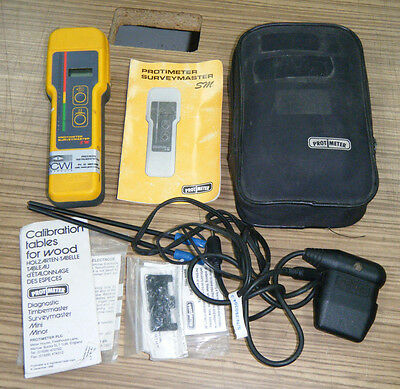 Surveyor SM Protimeter Digital Electronic Moisture Meter with Probes