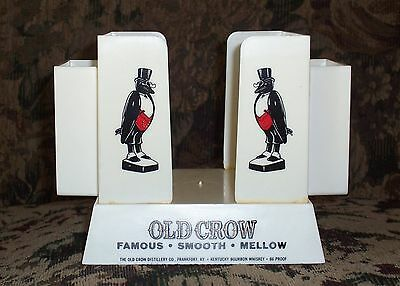 Vintage Old Crow Bar Caddy, Really Nice One!