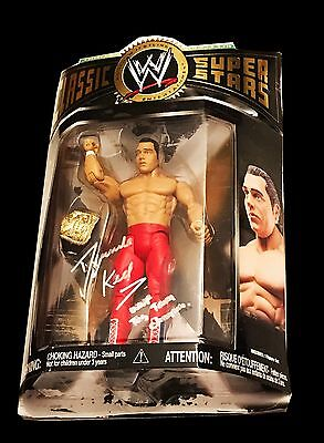 Wwe Dynamite Kid Hand Signed Autographed Classic Superstars Action Figure W/coa