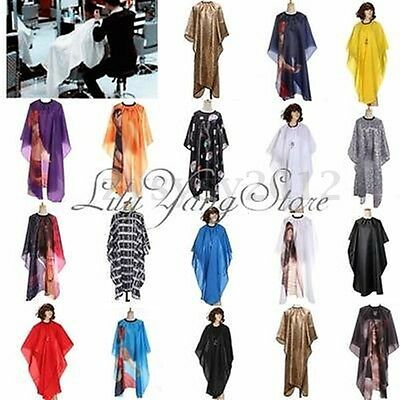Unisex Adult Hairdressing Cutting Cape Cloth Cover Hair Salon Barbers Gown