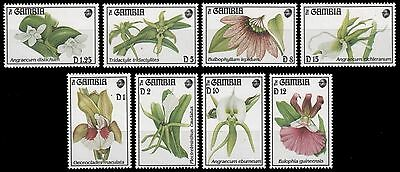 Gambia 1994 - Mi-Nr. 1866-1873 **  - MNH - Orchideen / Orchids