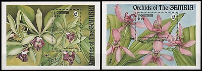 Gambia 1994 - Mi-Nr. Block 225-226 **  - MNH - Orchideen / Orchids