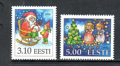 Estonia Mnh 1998 Sg325-326 Christmas