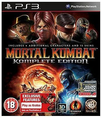 Mortal Kombat - Game of The Year Edition (PS3) [New Game]