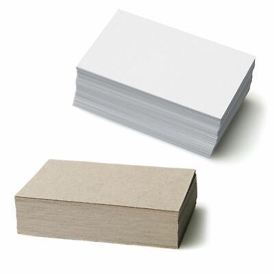 Blank Business Cards 350gsm in lots of 50, 100, 250, 500, 1000, 1500, 2000, 2500