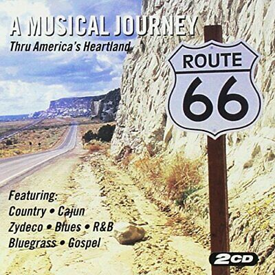 Various Artists - Route 66 - a Musical Journey - Various Artists CD Y3VG The The