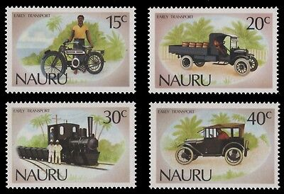 Nauru 1986 - Mi-Nr. 316-319** - MNH - Transportmittel / Transportation