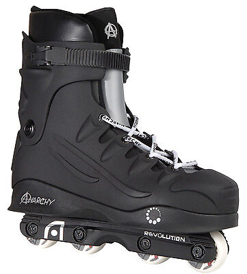 Anarchy Revolution Aggressive InLine Skates Roller Blades | Sizes UK4-UK11