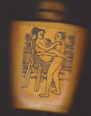 Chinese erotic snuff bottle