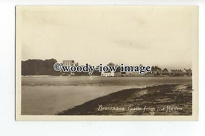 tq0855 - Dorset - Brownsea Castle, from the Haven, in Poole Harbour - Postcard