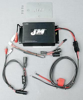 J&M 180W Performance Series 2-Channel Amp Kit #JMAA-1800HR15 Harley Davidson