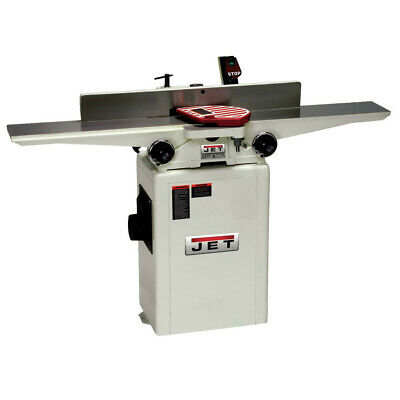 Jet 708457DXK 6 in. JJ-6CSDX Deluxe Long Bed Jointer with QS Knives New