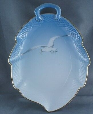 B and G Bing and Grondahl Seagull Large Leaf Dish #199