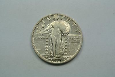1929-S Standing Liberty Quarter, XF Condition - C3160