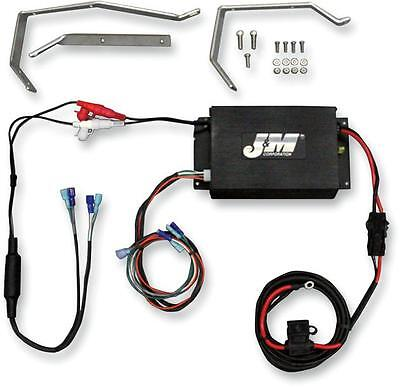 J&M Performance Series 2-Channel Amp/Speaker Kit #JHAKHR061802SP Harley Davidson