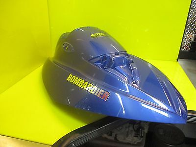 2002 Seadoo Sea Doo Gtx Di 951 Front Storage Cover Hood Blue