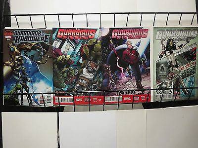 Guardians of the Galaxy mini set of 4 Marvel comics 2015 includes Annual VF-VF/+