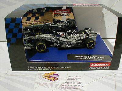 Carrera Digital 132 30729 # Infiniti Camo Bull Test Limited Edition 2015 1999 pc