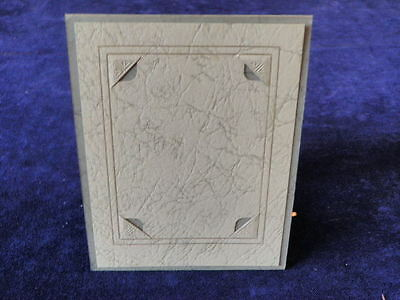 Vintage Art Deco Easel Pressed Cardboard Picture Frame 3X4 Photo Opening  A37
