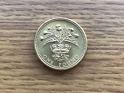 1984 £1 BU Coin - Thistle & Diadem - Royal Mint One Pound UNC Uncirculated