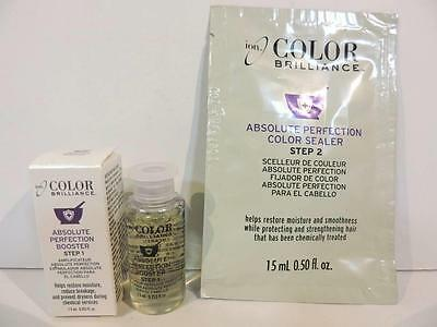ION Color Brilliance Absolute Perfection Step 1 Booster & Step 2 Color Sealer