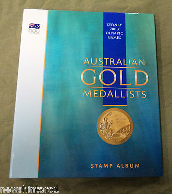 #cc.  2000 Sydney  Olympic Games Gold Medallists Stamp Folder