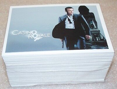 James Bond Archives Base set  Casino Royale 007 Secret Agent