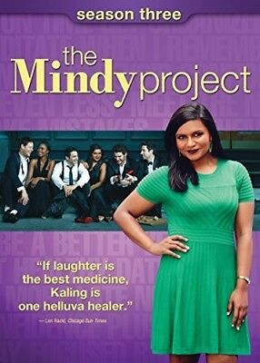 The Mindy Project: Season Three [New DVD] 3 Pack, Slipsleeve Packaging, Snap C