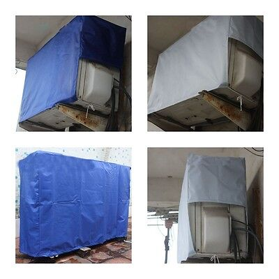 Air Conditioner Waterproof Cover Durable Rainproof Durable Protector Polyester