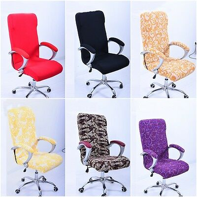 Elastic Kitchen Festival Office Computer Swivel Chair Cover Protector Decor